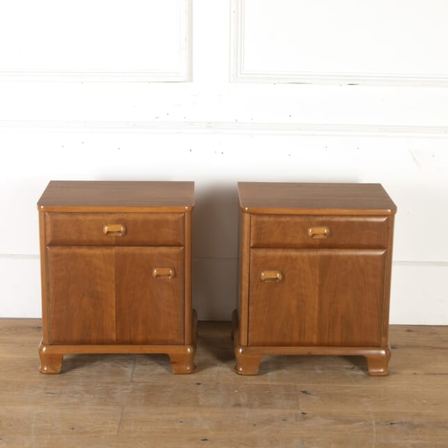 Pair of Walnut Bedside Tables BD7914001