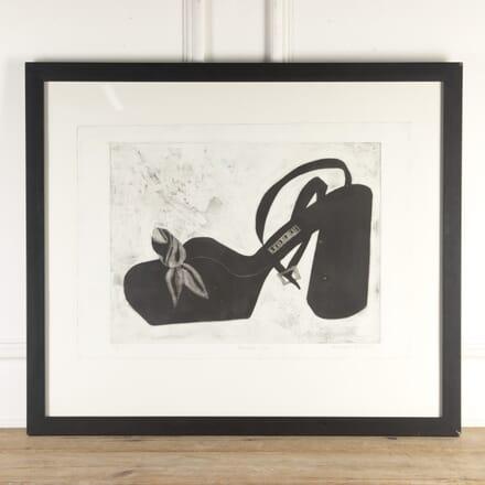 'Bendel's Shoe' Engraving DA8313820