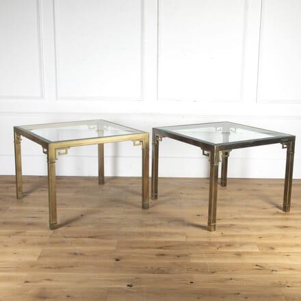 Pair of Bernhard Rohne Games Room Tables TC8715694
