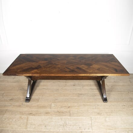 Bespoke English Arts & Crafts Dining Table TD8815676