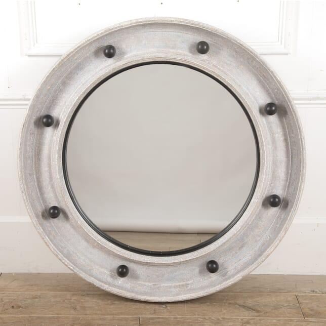 Large Bespoke Painted Round Mirror MI3516135
