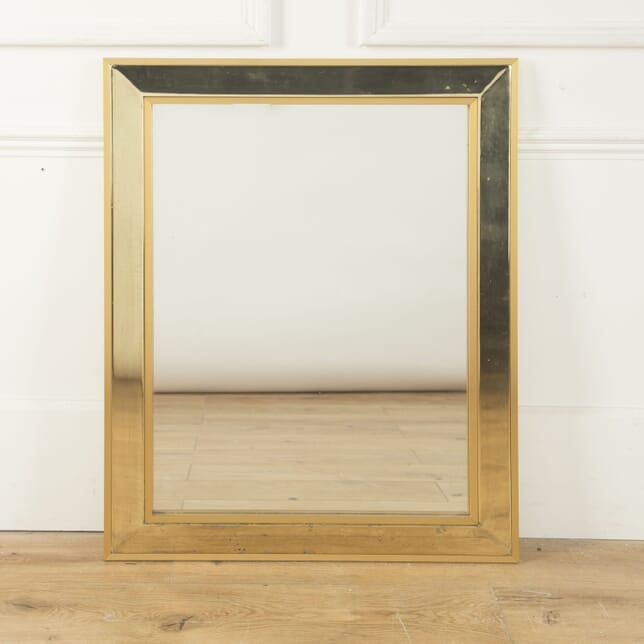 Bevelled Edged Brass Plated Mirror MI5310315