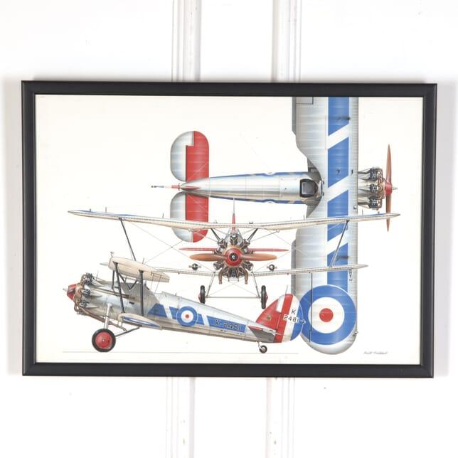 Biplane Print WD5359309