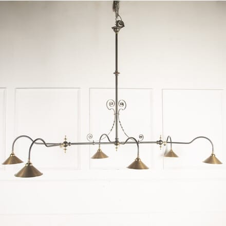 Brass and Steel Billiard Light LL1015640
