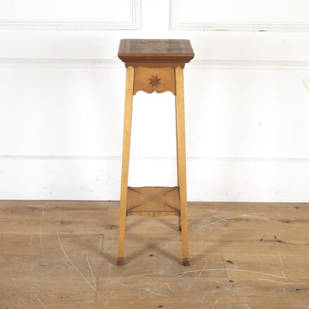 Birchwood and Rosewood Pedestal DA1014338