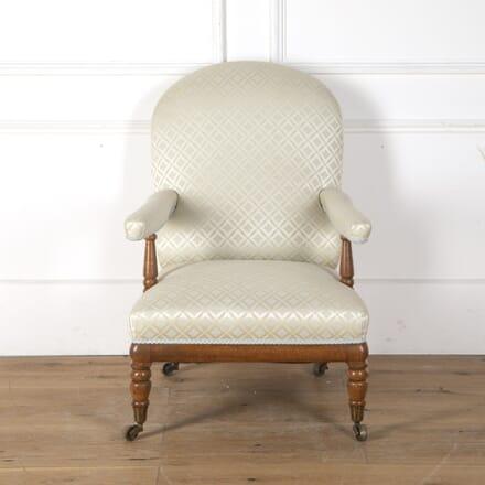 Birdseye Maple Open Armchair CH1055263