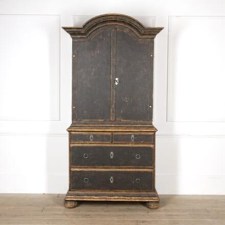 18th Century Black Rococo Cabinet CU6017431
