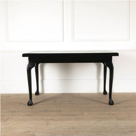 Black Lacquered Centre Table in George II Style TC8811365