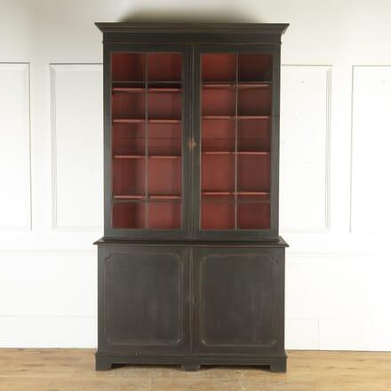 English Ebonised Bookcase BK7915748