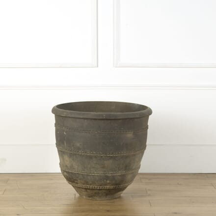 Black Terracotta Pot GA739179