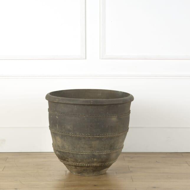 Black Terracotta Pot GA739179