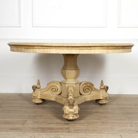 Bleached Oak Centre Table TC8417406