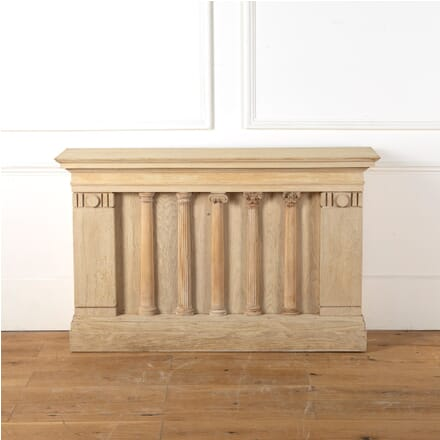 Bleached Oak Masonic Console Table CO3611275