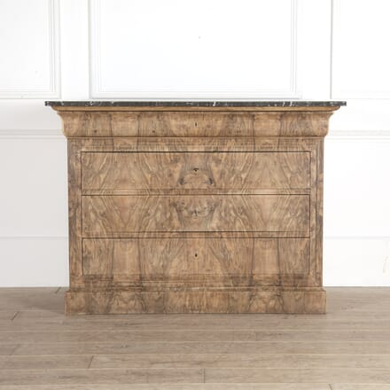 French Bleached Walnut Commode DA4514663