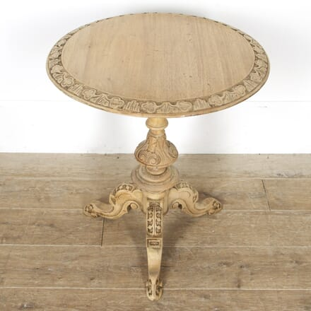 19th Century Bleached Walnut Side Table CO8417415