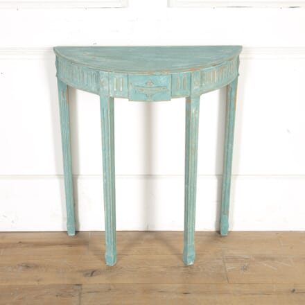 Neoclassical Painted Console Table CO7914965