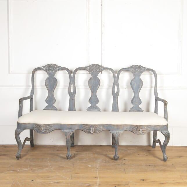Swedish 18th Century Carved Sofa SB8116303