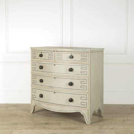 Bow Fronted Early 19th Century Chest of Drawers CC209219