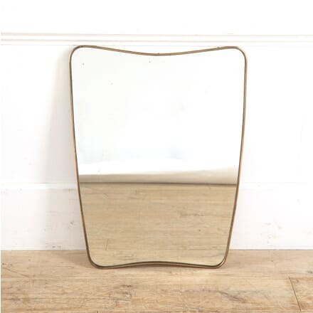 Brass Framed Mirror MI3010909