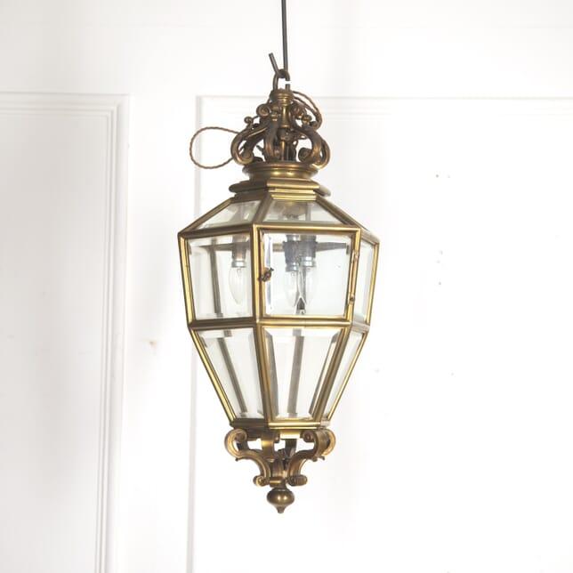 French Brass Hanging Lantern LL4815154