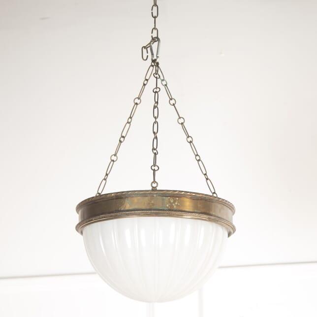 Bronze and Alabaster Pendant Light LL8914606