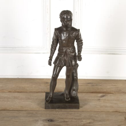 French Bronze Figure of a Young Scholar DA8516511