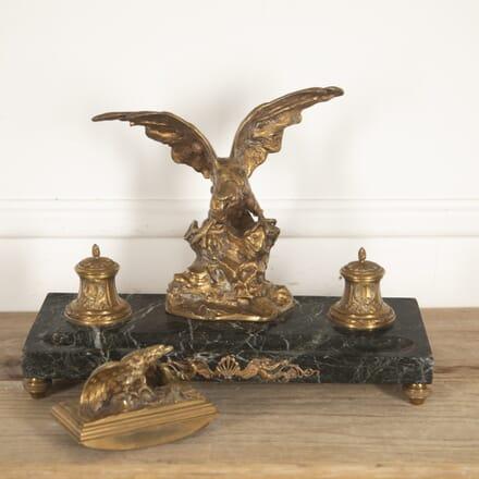 Bronze Inkwell by A. Marionnet DA5215805