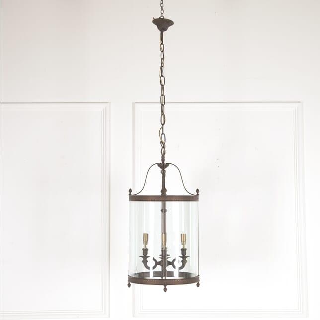 Bronze and Glass Hall Lantern LL4514284