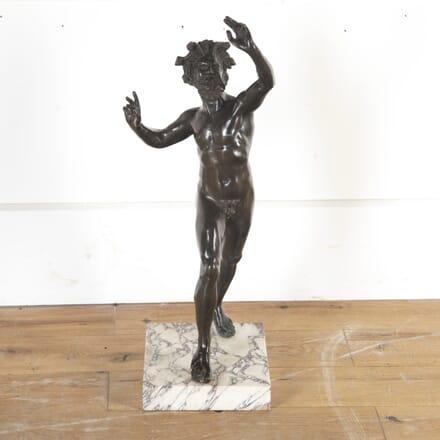 Bronze Sculpture of a Dancing Faun DA8413931
