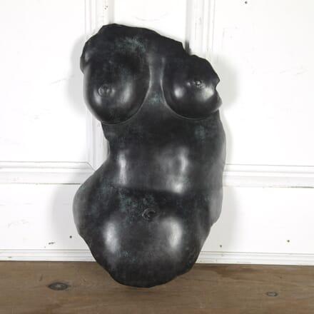 Bronze Torso by Angelo Bordonari DA5715810