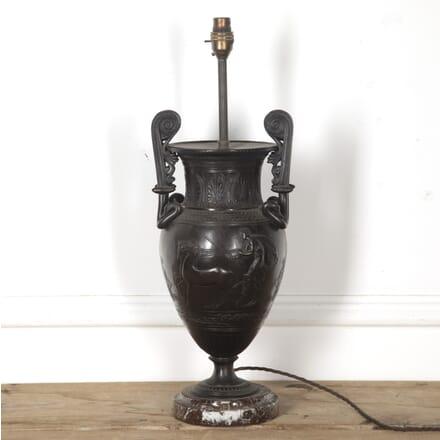 Italian 19th Century Bronze Urn Lamp LT1316851