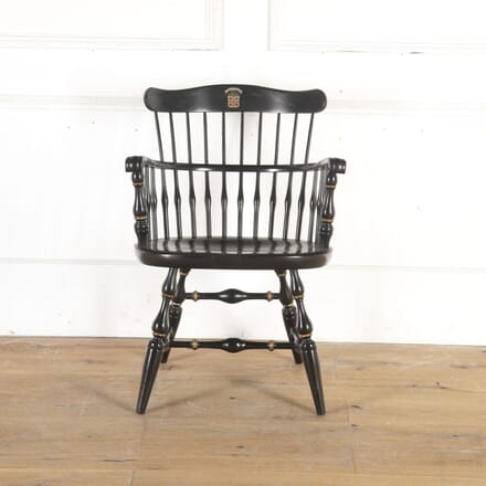 Brown College Windsor Chair CH4314550
