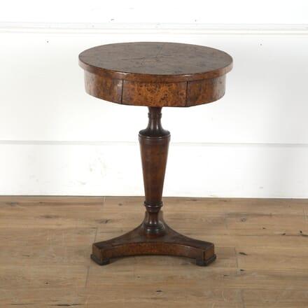 Burr Oak Occasional Table DA9213221