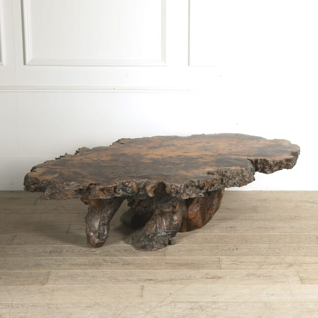 Large Burr Wood Coffee Table CT0410325