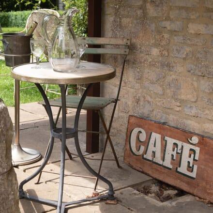 Café du Beaujolais Sign WD02200
