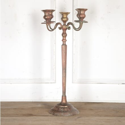 Spanish Silver Floor Candelabra DA4016730