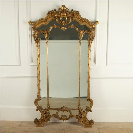 Carved Gilt Wood Mirror MI5211435