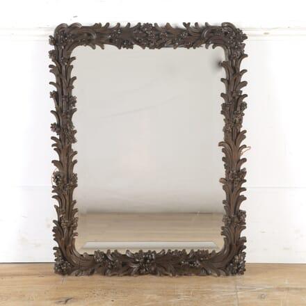 French Carved Oak Mirror MI8515650