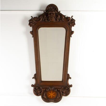 19th Century Carved Oak Mirror MI8517310