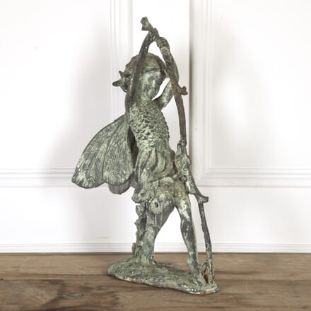 20th Century Cast Iron Statue DA9617079