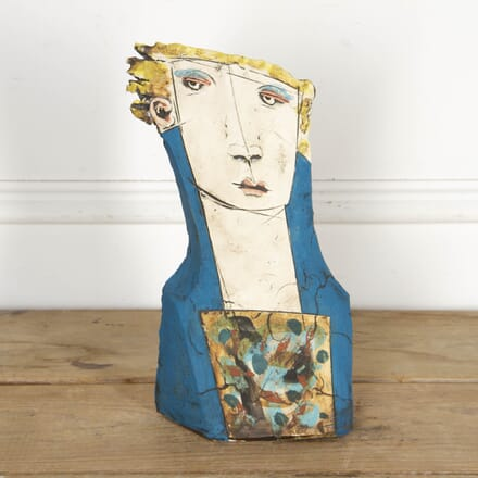 Ceramic Sculpted Bust by Christy Keeney WD2917479