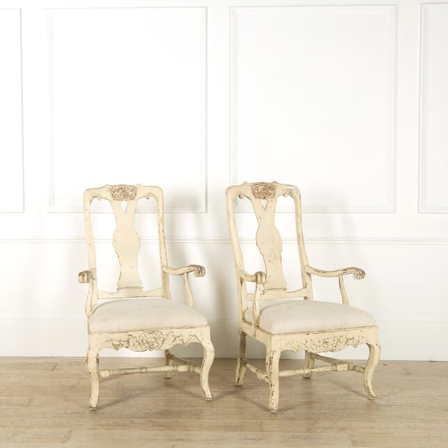 Pair of Swedish Chairs CH135265