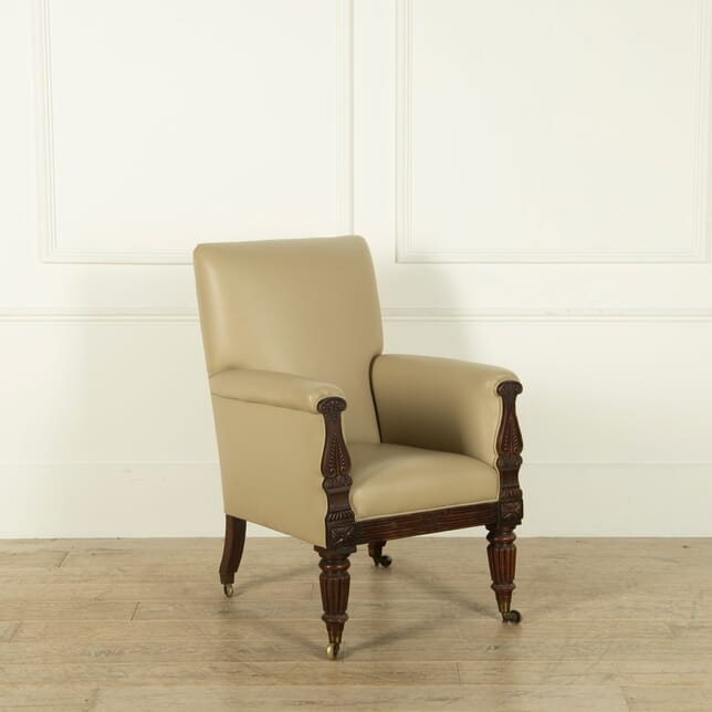 William IV Leather Armchair CH1354655