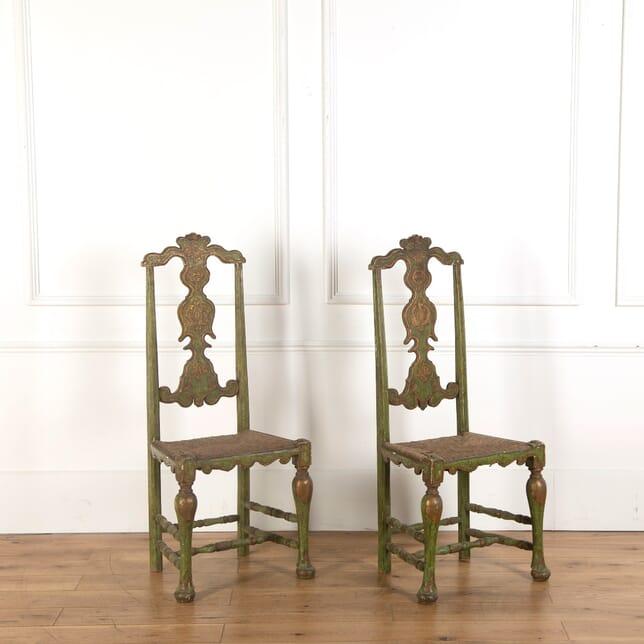 Spanish Green Chairs CH7361142