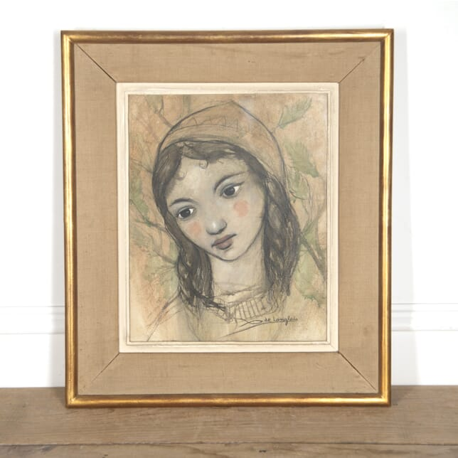Charcoal Drawing by de Langelais WD3016003