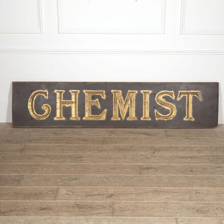 English Chemist's Sign DA3515515