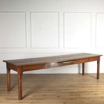 French 19th Century Cherrywood Farmhouse Table TD8516504