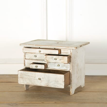 Miniature Table Top Chest of Drawers CC719152