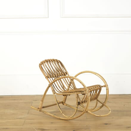 Childs Bamboo Rocking Chair OF379527