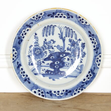 18th Century Delftware Plate DA2917498